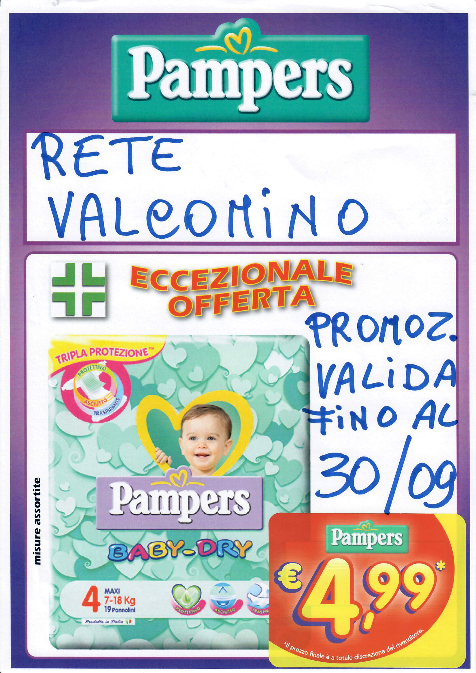 Promozione Pampers Baby- Dry